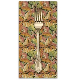 PD's William Morris Collection William Morris 2017, Acanthus in Black, Dinner Napkin