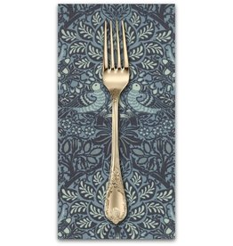 PD's William Morris Collection William Morris 2017, Dove and Rose in Indigo, Dinner Napkin