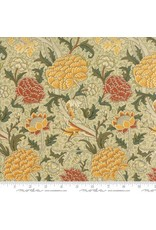 William Morris William Morris 2017, Cray in Parchment, Fabric Half-Yards 7300 12