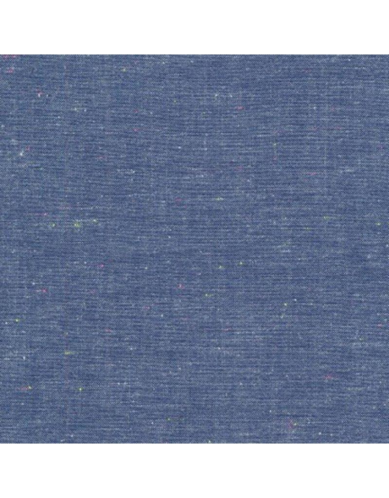 Robert Kaufman Neon Neppy Chambray in Royal, Fabric Half-Yards SRK-17237-11