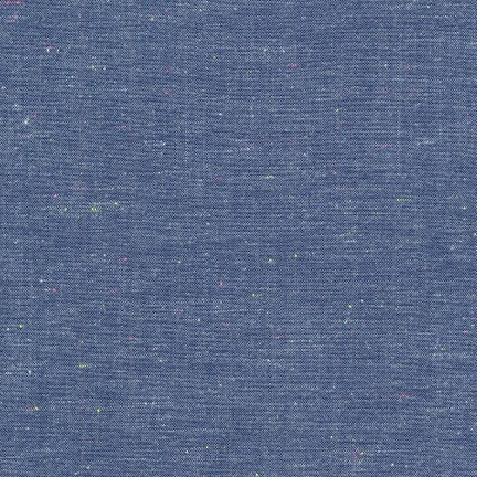 Robert Kaufman Neon Neppy Chambray in Royal, Fabric Half-Yards SRK-17237-11