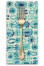 PD's Alexia Abegg Collection Sienna, Cabachon in Turquoise, Dinner Napkin