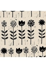 PD's Alexia Abegg Collection Sienna, Wildflower in Ink, Dinner Napkin