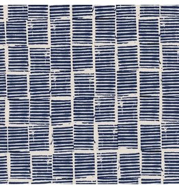 Alexia Abegg Sienna, Hearth in Indigo, Fabric Half-Yards A4057-03