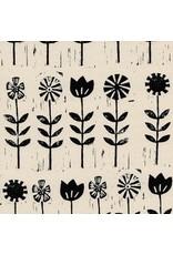 Alexia Abegg Sienna, Wildflower in Ink, Fabric Half-Yards A4056-03