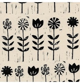 Alexia Abegg Sienna, Wildflower in Ink, Fabric Half-Yards A4056-03