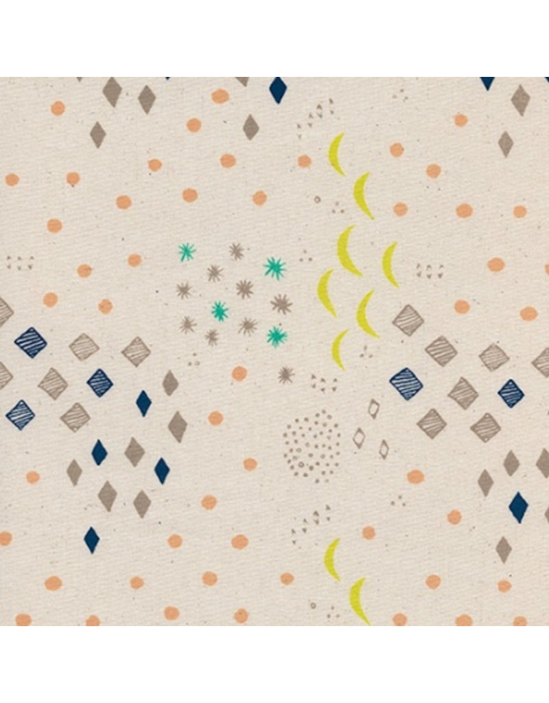 Alexia Abegg Sienna, Moonlight in Natural, Fabric Half-Yards A4051-02