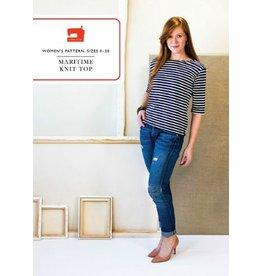 Liesl & Co Liesl+Co's Maritime Knit Top Pattern ezknit