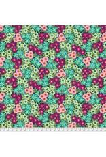 Jennifer Paganelli Judith's Fancy, Sally in Teal, Fabric Half-Yards PWJP135