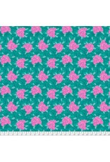 Jennifer Paganelli Judith's Fancy, Deborah in Teal, Fabric Half-Yards PWJP132