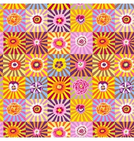 Kaffe Fassett Kaffe Collective Fall 2017, Sunburst in Bright, Fabric Half-Yards  PWGP162