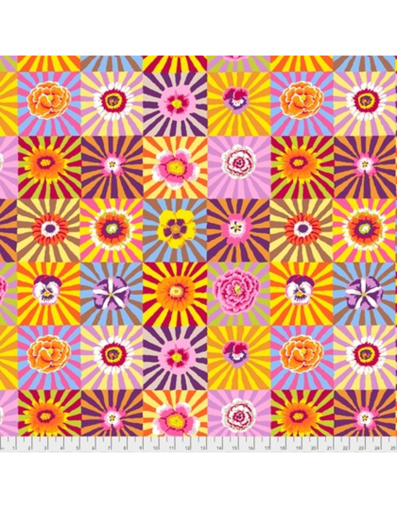 PD's Kaffe Fassett Collection Kaffe Collective Fall 2017, Sunburst in Bright, Dinner Napkin