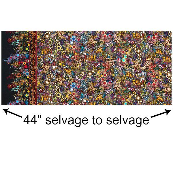 Robert Kaufman Effervescence, Jewel, Fabric Half-Yards AAQ-11209-201