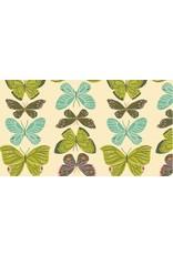 Rae Ritchie Woodland Nymph, Butterflies in Vanilla, Fabric Half-Yards STELLA-SRR904