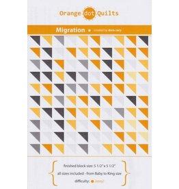 Orange Dot Quilts Orange Dot Quilt's Migration Pattern