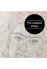 Sublime Stitching Embroidery Kit, Pillow Cover: Frida Kahlo by Jenny Hart for Sublime Stitching