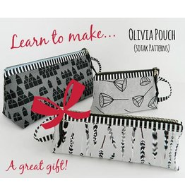 Megan Selby, Instructor 12/09/17: CLASS IS FULL Make a Zipper Pouch