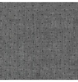 Robert Kaufman Sevenberry Classiques Chambray, Shadow, Fabric Half-Yards SB-4101D3-102