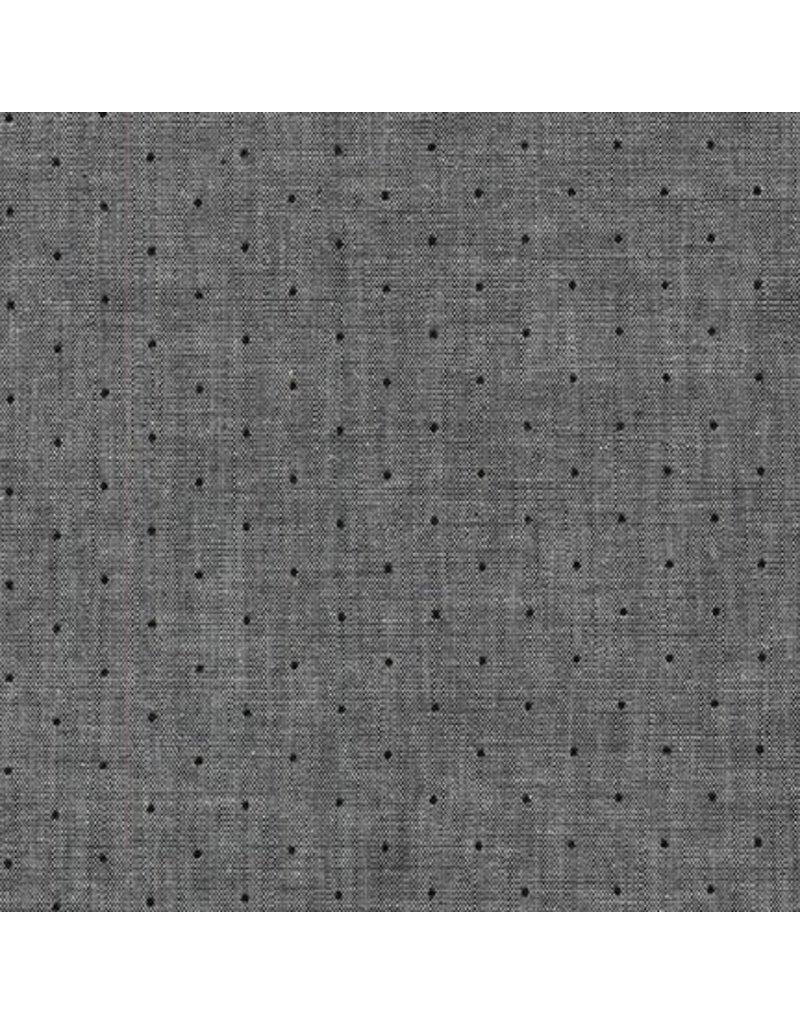 Robert Kaufman Sevenberry Classiques Chambray, Shadow, Fabric Half-Yards SB-4101D3-102