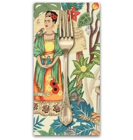PD's Alexander Henry Collection Folklorico, Fridas Garden in Tea, Dinner Napkin