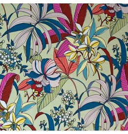 Alexander Henry Fabrics Rio, Floriana in Tea Dye Folklorico, Fabric Half-Yards 8588D
