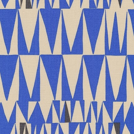 PD's Robert Kaufman Collection Psychedelia, Triangles in Cornflower, Dinner Napkin