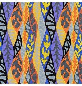 Robert Kaufman Psychedelia, Matisse in Caribbean, Fabric Half-Yards AGP-17271-257