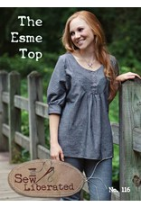 Sew Liberated's The Esme Top Pattern - 50% off regular price of $14.00