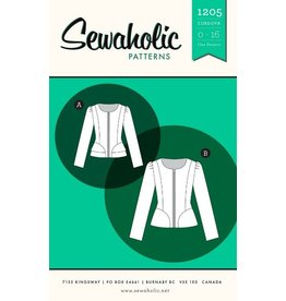 Sewaholic's Cordova Jacket - 1205 Pattern - 50% off regular price of $19.98