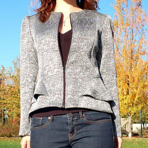 Sewaholic's Cordova Jacket - 1205 Pattern - 50% off regular price of $19.98