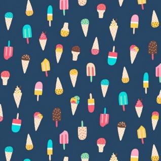 Dear Stella Ice Cream in Regatta, Fabric Half-Yards Stella-953