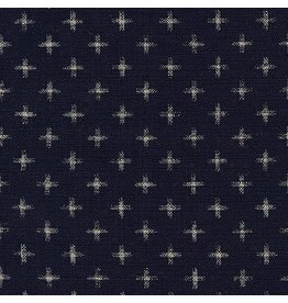Robert Kaufman Sevenberry Nara Homespun in Indigo, Fabric Half-Yards SB-88223D23-62