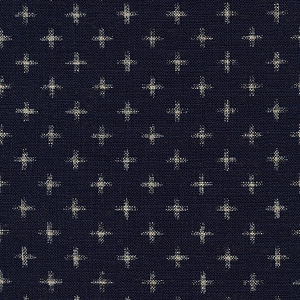 Robert Kaufman Sevenberry Nara Homespun in Indigo, Fabric Half-Yards SB-88223D23-62