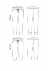 True x Bias True x Bias Hudson Pants -  Pattern