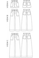 True x Bias True x Bias Lander Pants/Shorts -  Pattern