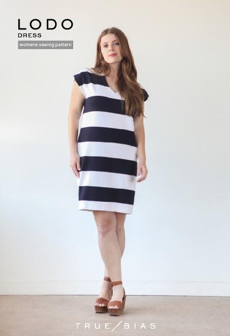 True x Bias True x Bias Lodo Dress -  Pattern
