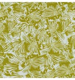 Carolyn Friedlander Gleaned, Lizard Border in Seafoam, Fabric Half-Yards AFR-17289-241