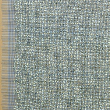 Carolyn Friedlander Gleaned, Leo Double Border in Stone, Fabric Half-Yards AFR-17293-155