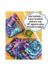 Picking Daisies Dinner Napkin Kit - Your Choice of Fabric + Coordinating Thread