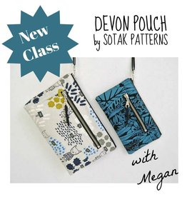 Megan Selby, Instructor 03/17: Make the Devon Zipper Pouch with Megan