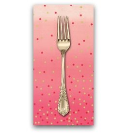 PD's Moda Collection Ombre Confetti in Hot Pink, Dinner Napkin