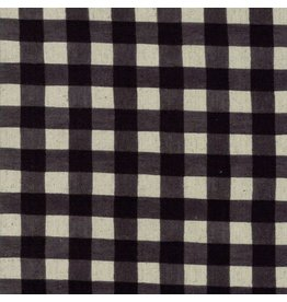 Moda Mochi Homegrown Gingham in Night Sky on Linen, Fabric Half-Yards 32910 21L