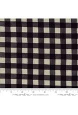 Moda Mochi Homegrown Gingham in Night Sky on Linen, Fabric Half-Yards 32910 21L