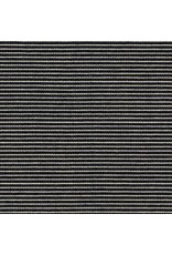 Robert Kaufman Indigo Medium Weight Knit, Thin Stripes in Indigo, Fabric Half-Yards