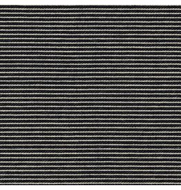 Robert Kaufman Indigo Knit, Thin Stripes in Indigo, Fabric Half-Yards