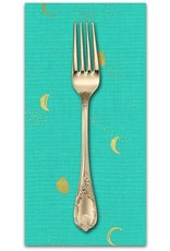 PD's Sarah Watts Collection Santa Fe, Moon Phase in Turquoise, Dinner Napkin