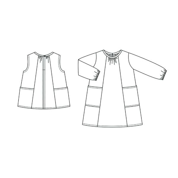 Wiksten's Baby + Child Smock Top + Dress Sewing Pattern