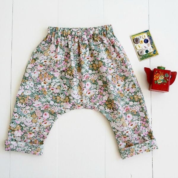 Wiksten's Baby + Toddler Harem Pants Sewing Pattern