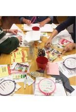 Jen Senor, Instructor 05/05/18: Jen's Intro to Hand Embroidery Class