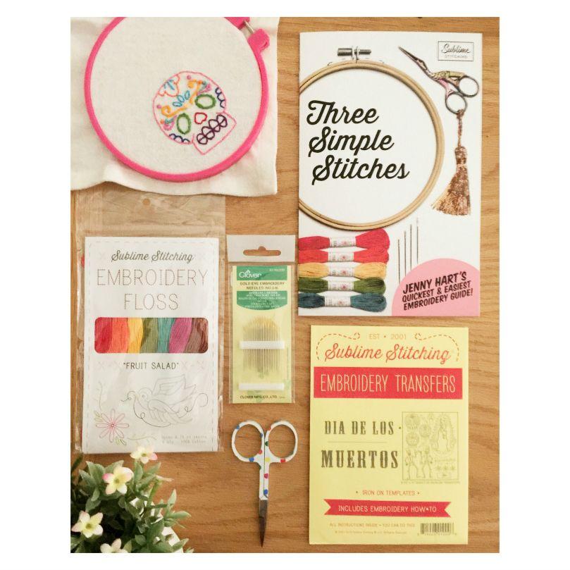 Jen Senor, Instructor 07/14/18: Jen's Intro to Hand Embroidery Class
